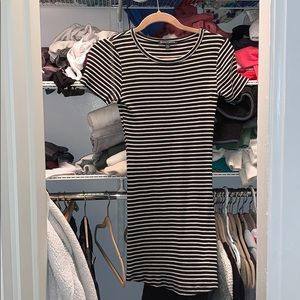 Brandy stripped dress